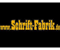 Klebebuchstaben vom Hersteller - Schrift-Fabrik.de