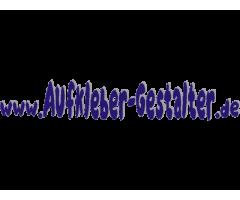 Domainaufkleber online selbst gestalten und bestellen